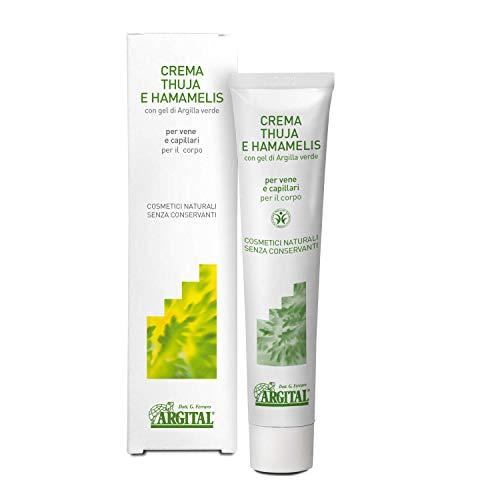 Crema a la thuja y hamamelis - Argital cosmética natural - 75 ml.