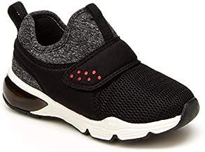 carter's Boy's Zadith Running Shoe, Black, 5 Toddler