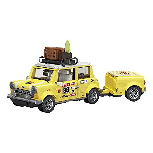 Ke5441lia Technik Romantische Touristische Picknick-Auto-Bausteine, FC MOC Kreativfahrzeug Montagesteine Modell Sit ConstructionToy Kompatibel mit Lego Technic (1546Teile)