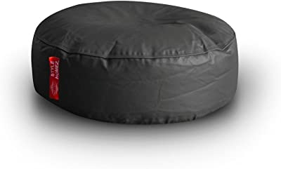 Style Homez Classic Round Floor Cushion XL size Grey Color Cover Only