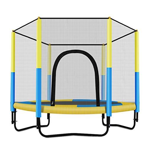 Outdoor Trampolines Trampoline Bounce Bed Springen Bed Met Netten Familie Speelgoed Springen Bed Geef De Familie Het Beste Geschenk Geschikt Voor 1-2 Mensen Laadcapaciteit 200kg Blauw Roze Groen Geel Speelgoed & Spelletjes