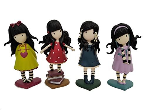 COMANSI - Set Colección GORJUSS Classic - 4 Figuras