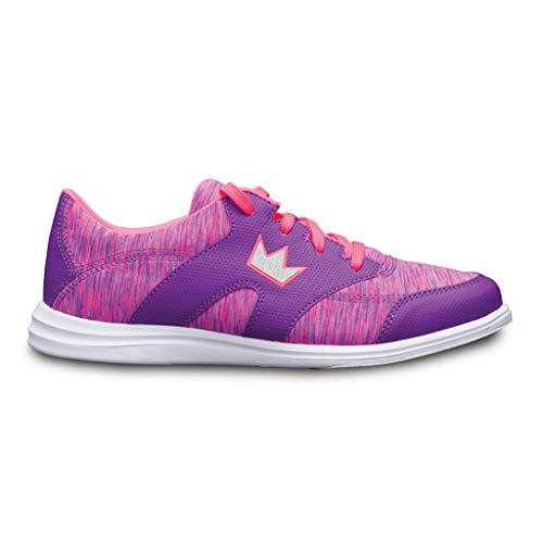 Brunswick Ladies Karma Sport Bowling Shoes Purple/Pink, 7.5
