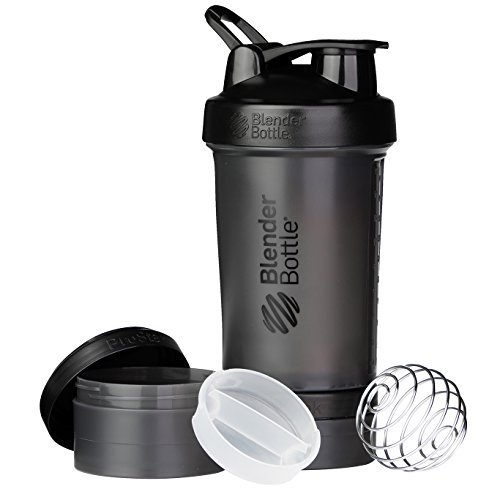 Smart Blender Bottle Prostak - Preta - 450ml