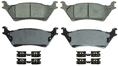 Wagner QuickStop ZD1602 Ceramic Disc Brake Pad Set