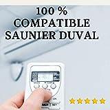 Mando Aire Acondicionado SAUNIER Duval - Mando a Distancia Compatible 100% con Aire Acondicionado SAUNIER Duval. Entrega en 24-48 Horas. SAUNIER Duval MANDO COMPATIBLE