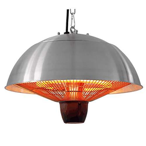 ZXYSR Fungo Riscaldante da Interno, Installazione A Soffitto Tre Temperature Regolabili 1500W Fungo A Gas Riscaldante Acciaio Inossidabile, Fungo Riscaldante per Esterno Elettrico