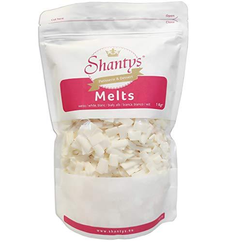 Shantys Melts - WEISS 1000 g, Shantys Patisserie & Dessert