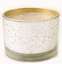 Tyler Eggnog Stature Platinum on Gold 16oz Scented Jar Candle