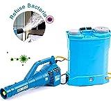 WQSFD Atomizador Eléctrico ULV, 8-10M A Distancia De Agrícola Pulverizador, Batería De...