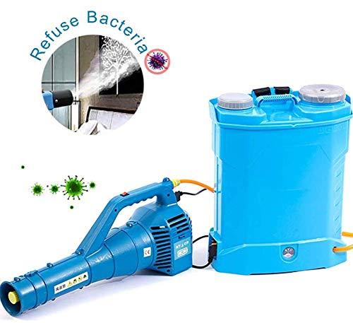 WQSFD Atomizador Eléctrico ULV, 8-10M A Distancia De Agrícola Pulverizador, Batería De Litio Recargable,para El Hospital De Los Hogares Desinfección