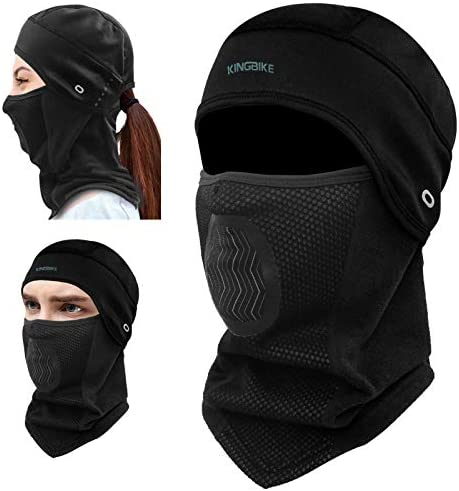 KINGBIKE Balaclava Ski Mask Motorcycle Running Full Face Cover Windproof Waterproof Neoprene product image