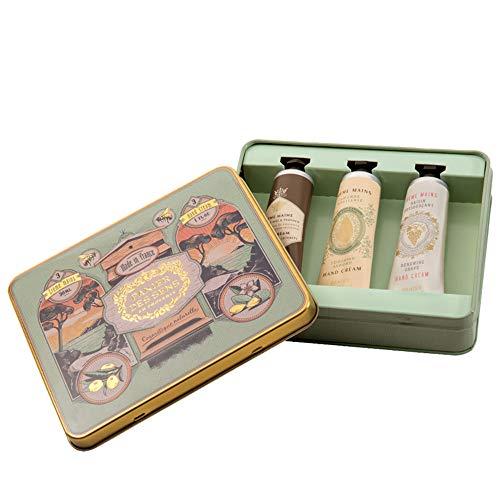 Les Intemporels Geschenkbox mit 3 Handcremes 30 ml