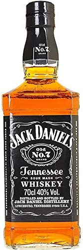 Jack Daniels Old No. 7 Tennessee Whiskey 700mL
