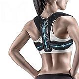 Cinturón de apoyo para la espalda relajante Corrector de postura ajustable que previene la protección jorobada de la columna vertebral del dolor de la columna de la columna de la colectora de la colec