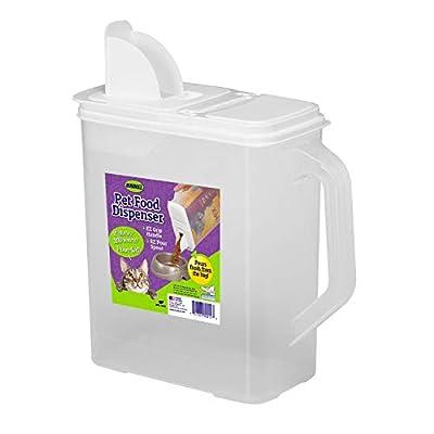 Buddeez 8Qt Pet Food/Bird Seed Storage Container and Dispenser