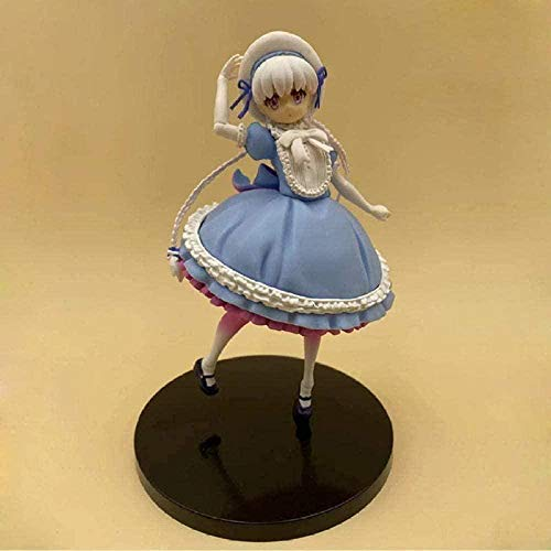 HFKUYK-123 Regalo Anime Character Fate Extra Last Encore Nursery Rhyme Figura de acción Pintada Escala 1/8 Ruleta Alice PVC Figuras de acción Juguetes Anime 16cm LJP36