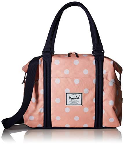 Herschel Unisex-Erwachsene Outfitter Travel Duffle Reisetaschen, Pfirsichfarbene Punkte, Einheitsgröße