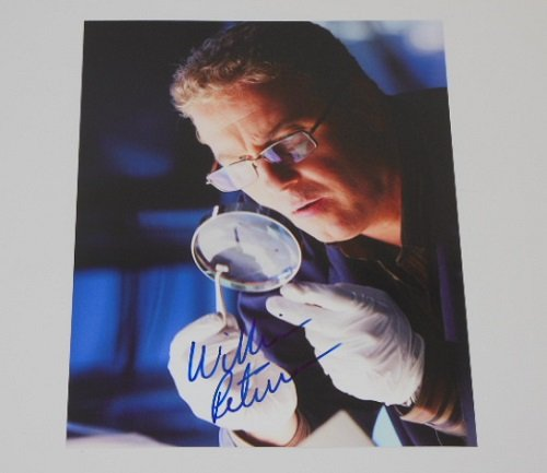 CSI: Gil Grissom William Petersen Signed Autographed 8x10 Glossy Photo Loa