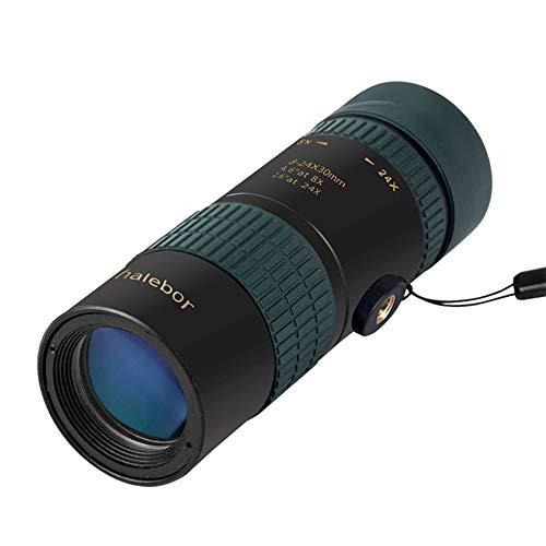 MUYU Monoculaire Telescoop 8-24X Zoom HD-vergrootglas Voor iPhone Samsung en de meeste Android-smartphones