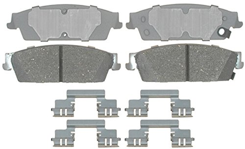ACDelco 14D1194CH Advantage Rear Ceramic Disc Brake Pad Set