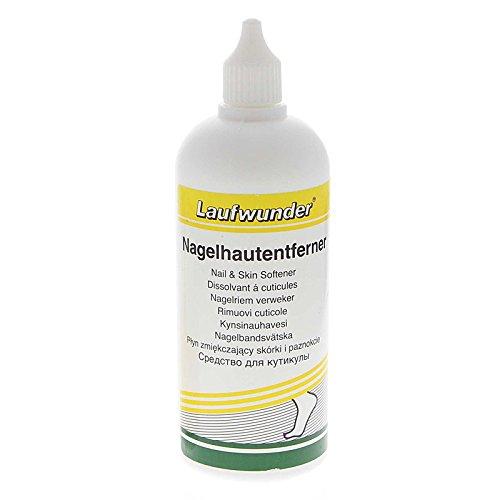 Laufwunder Nagelhautentferner für überstehende und verhärtete Nagelhaut, 250 ml