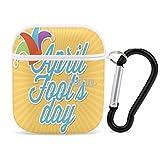 April Fool's Day Portable iPhone Apple Bluetooth Auriculares de protección de...