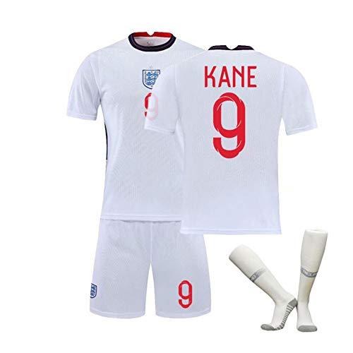 Fußball Trikot Leichtes Team-Trikot Unisex Kane #9 Für Kinder & Erwachsene Casual Oder Sport Shirt,2XL#