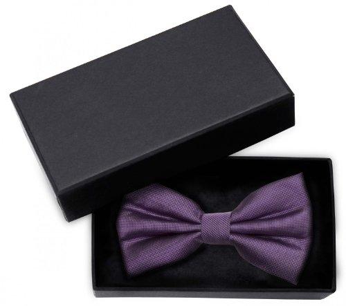 Fabio Farini Noeud papillon de en violet avec texture