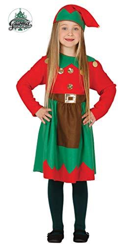 Disfraz de elfa infantil 10-12 años