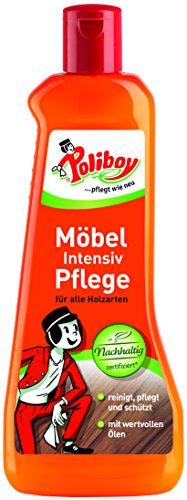 Poliboy - Möbel Intensiv Pflege - hervorragend zur Reinigung, Pflege und zum Schutz von Möbeloberflächen aller Art - 500ml - Made in Germany
