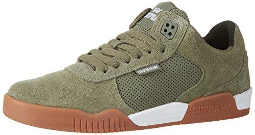 Supra Men's Ellington Olive/White Athletic Shoe