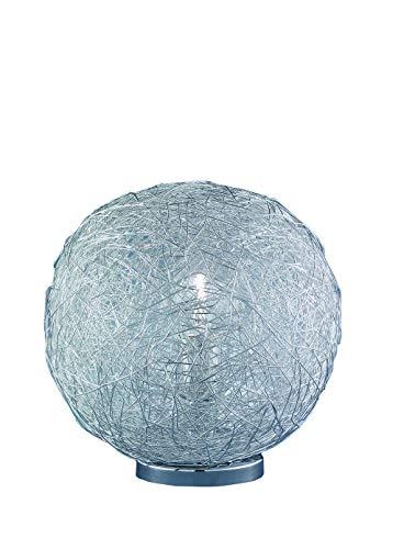 Wofi Tischleuchte, 1-flammig, ø 30 cm, chrom 802101010300