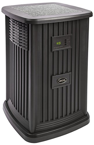 Product Image of the AIRCARE EP9 800 Digital Whole-House Pedestal-Style Evaporative Humidifier, Espresso