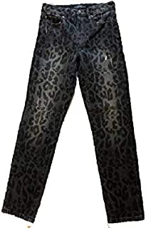 b5e5c4be73c664 Jeans Scuro MACULATO Modello The IT Girl Skinny Straight High Fit ICONICO,  Vita Alta di