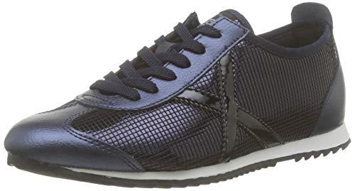Munich Osaka, Zapatillas de Deporte Mujer, Azul (Marino 390), 36 EU