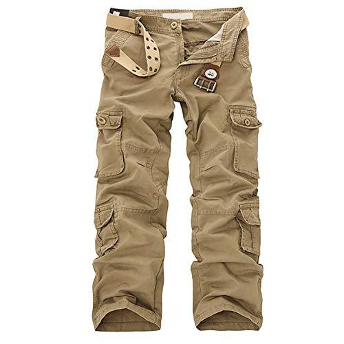 Allthemen Pantalon de Travail Homme Style Cargo