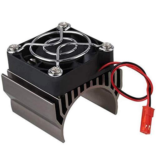 Bigpea para 540 550 motor disipador de calor RC partes sin escobillas motor para 1/10 HSP Control remoto RC coche titanio