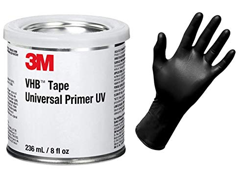 3M VHB Tape Universal Primer UV + Nitrile 6mil Power Free Glove (improved version of 94)