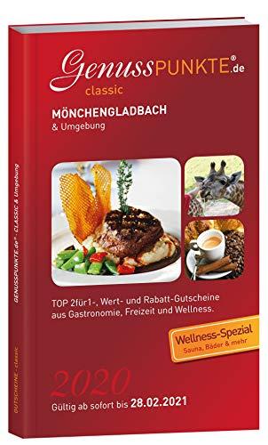 Gutscheinbuch GenussPUNKTE Mönchengladbach & Umgebung 2020 - gültig ab sofort bis 28.02.2021 - TOP 2für1-, Wert- und Rabatt-Gutscheine aus Gastronomie, Freizeit und Kultur