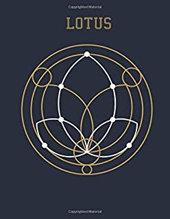 Lotus: Stress Relieving Geometric Mandala Designs Adult Coloring Book For Meditation And Happiness Coloring Book For Adults
