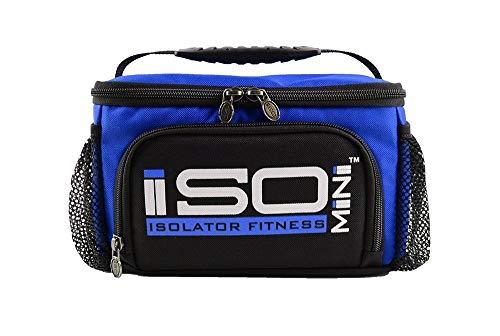 Isolator Fitness IsoMini Mahlzeiten Management-System - Violett/Schwarz - Isolierte Mahlzeiten-Kühltasche