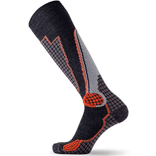 High Performance Wool Ski Socks – Outdoor Wool Skiing Socks, Snowboard Socks...