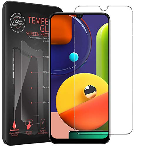 Conie® Displayfolie für Samsung Galaxy A12, Tempered Glass verstärkte Panzerglas Folie 9H Panzerfolie Gorilla Glasfolie, Galaxy A12 Displayschutzfolie Klar