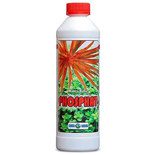 Makro Basic Phosphat 500ml I Wasserpflanzen-Dünger zur optimalen Versorgung von Wasserpflanzen im Aquarium
