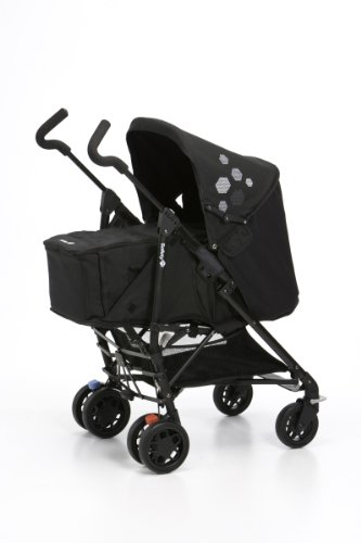 Safety 1st 19264412 - Easy Way Buggy Komfort-Set mit Softtragetasche ab Geburt bis 15 kg, black sky