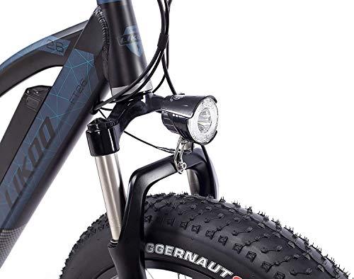 418Gmw p7WL - Fitifito FT26 Elektrofahrrad Fatbike E-Bike Pedelec, 48V 250W Heckmotor, 48V 13Ah 624W Samsung Akku, hydraulische Bremsen, Büchel Scheinwerfer