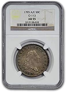 1795 Flowing Hair Dollar AU-55 NGC (A/E O-113) 1 AU-55 NGC