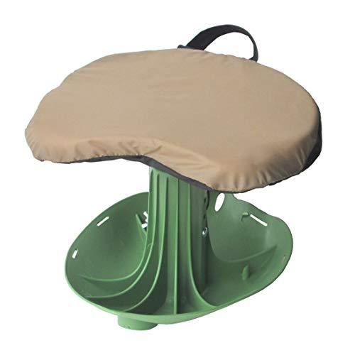 Vertex Garden Rocker Original Comfort Seat with Height Adjustable Contoured Comfort Seat with Cushion -Made in USA - Model GB1221-S