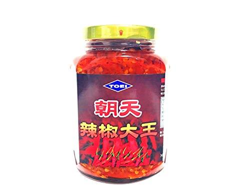 朝天辛味調味料 激辛 朝天辣椒大王 食べるラー油代わる中華調味料 380g 冷凍商品と同梱不可